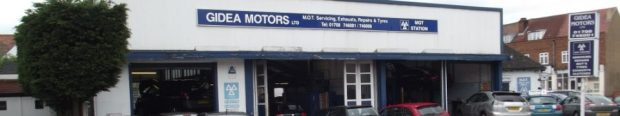 Gidea Motors Tyres for all vehicles. Gidea Park car and vehicle service, MOT, parts, repairs. Gidea Park garage.